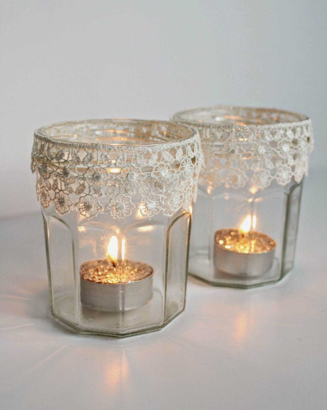 28 ingenious diy candle and votive candle holder ideas