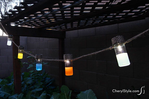 31 Brilliant DIY Garden Lighting Ideas ListInspiredcom