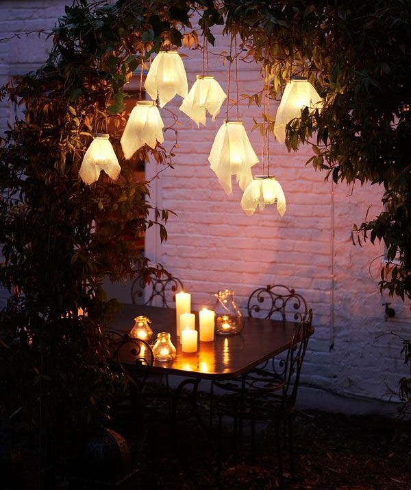 3 homemade simple garden lights backyard lighting ideas