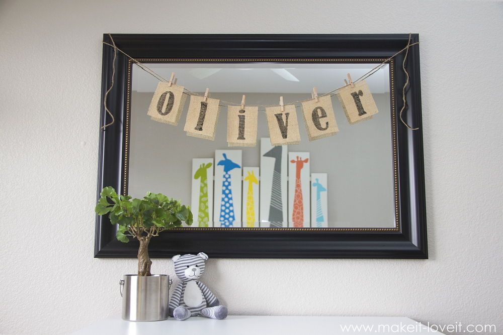 33 Adorable DIY Nursery Decoration Ideas – Page 3 – List Inspired
