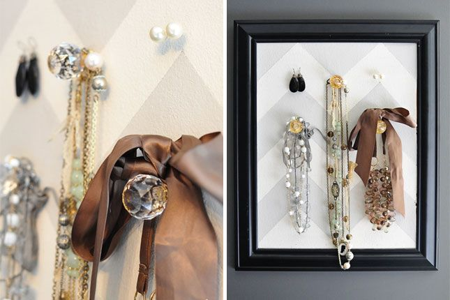 33 clever and decorative ways to keep your jewelry organized list inspired - Clever diy ways keep jewelry organized ...