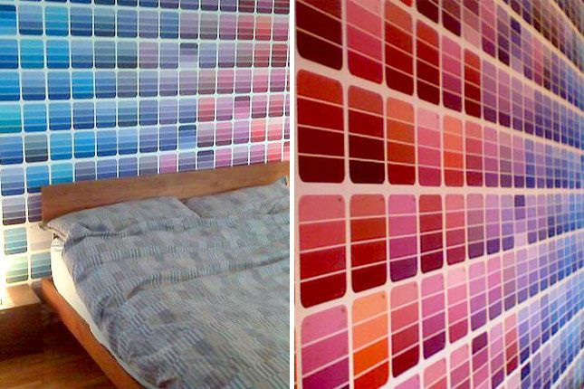 37 awesome diy projects using paint chips – listinspired