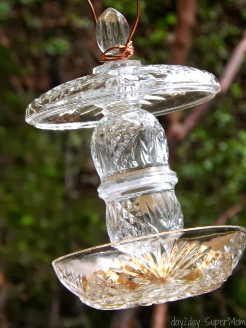 craft ideas for garage sales - 35 Inspiring DIY Bird Feeder Plans and Ideas