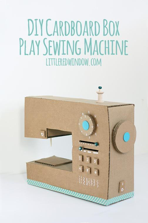 35 things you can make with a cardboard box that will for Things you can make out of a cardboard box