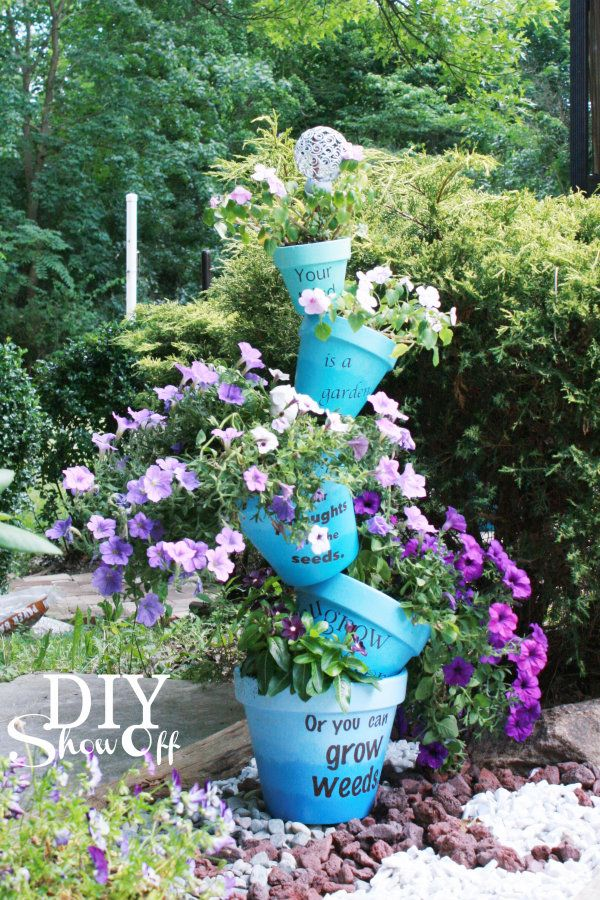 40 Fascinating Things To Make With Clay Pots ListInspiredcom