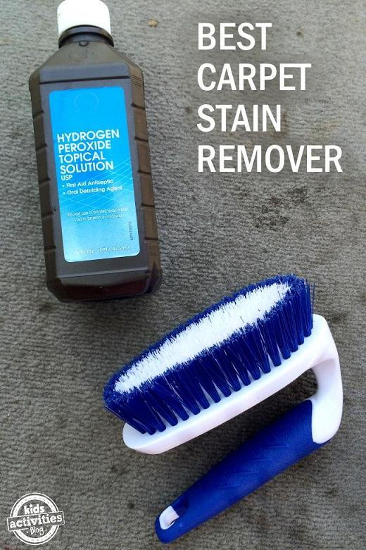 2 Ingredient Carpet Stain Remover