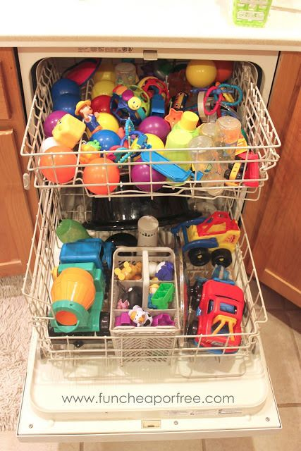 De-Germ Your House with Your Dishwasher