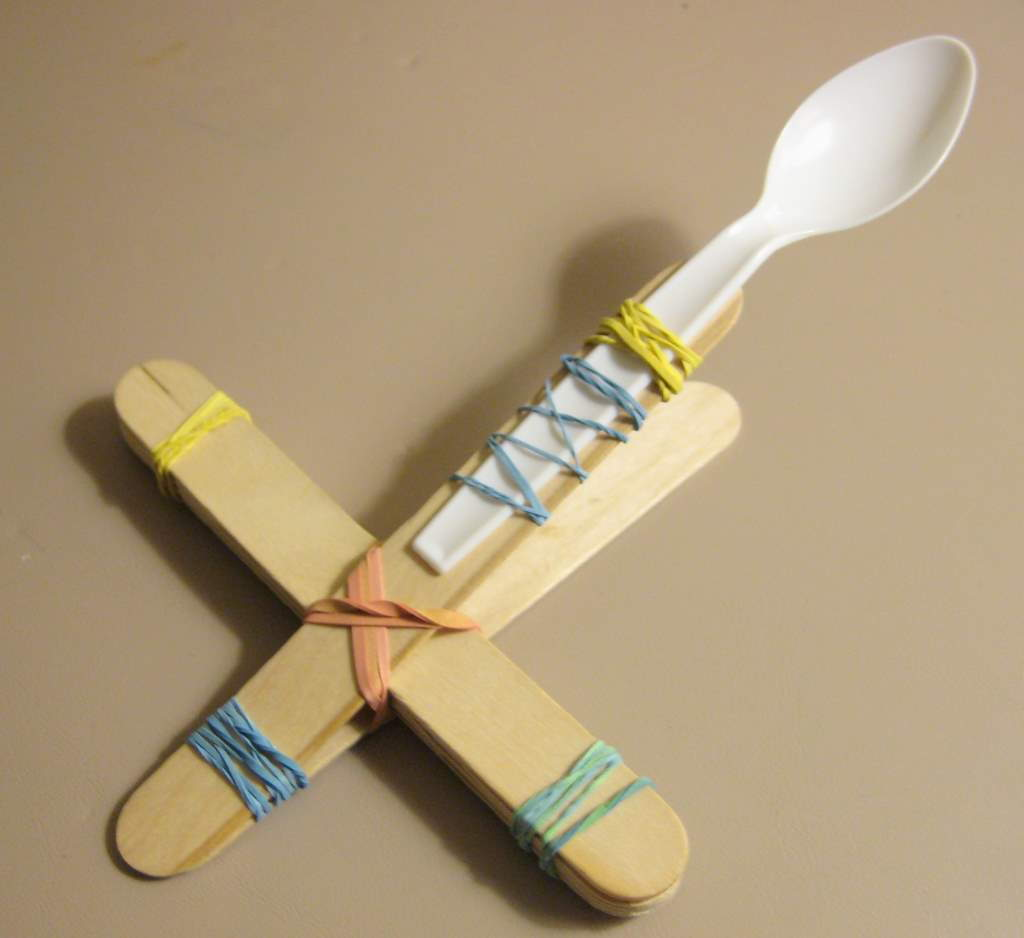 Simple Marshmallow Catapult