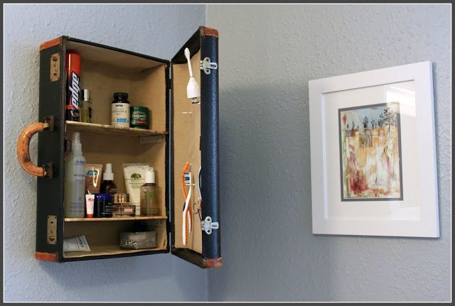 50 creative ways to repurpose and reuse household items page 4 - Repurposing old suitcasescreative ideas ...