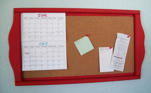 Diy Calendar Bulletin Board : Get organized with these creative bulletin boards diy