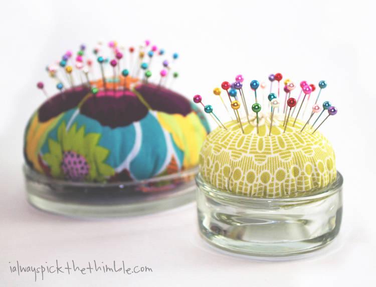 Tea Light and Candle Plate Pincushion