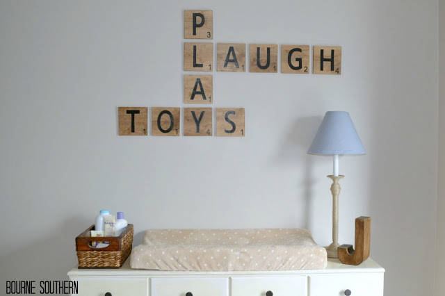 to decorate your home with letters and words the results are awesome