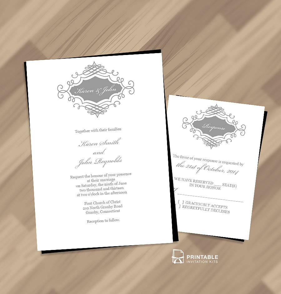 50 absolutely stunning wedding invitation templates all for you 10 beautiful wedding monogram invitation