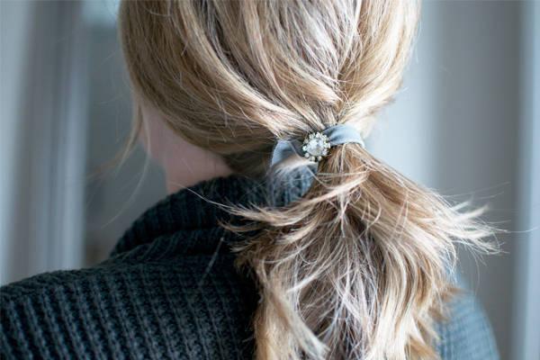 Jeweled Hair Elastic