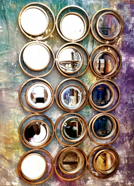 40 cheap and brilliant dollar store diy project ideas you for Dollar store mirror craft