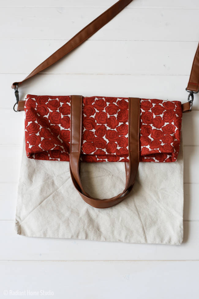 Fold Over Tote