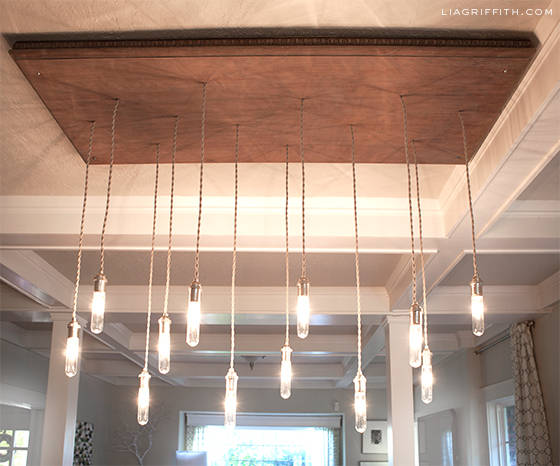 Industrial Edison Style Chandelier
