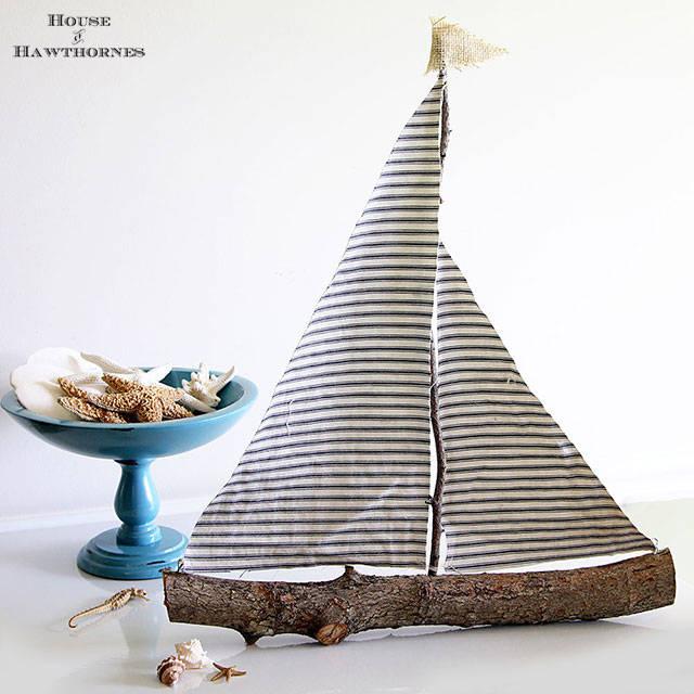 Rustic Sailboat