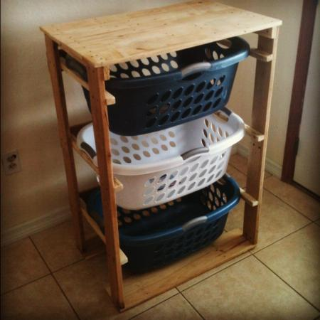 Laundry Basket Dresser
