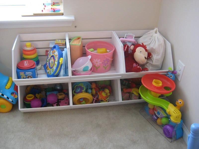 50 easy diy storage ideas to organize kids rooms page 4 - Diy kids room storage ideas ...