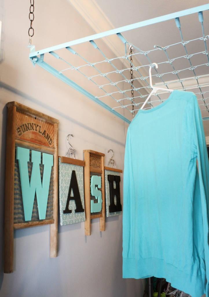 Crib Spring Drying Rack Wash Room Decor