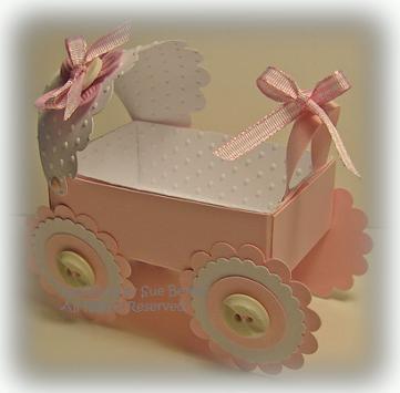 Wedding Gift Card Box Tutorial : baby carriage box via scor pal 4 tiny milk carton favor box