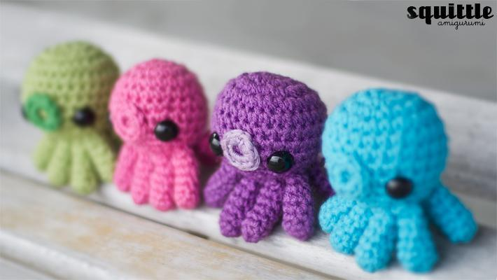 Amigurumi Octopus Tutorial : 50 Cutest FREE Amigurumi Patterns and Tutorials Page 3 ...