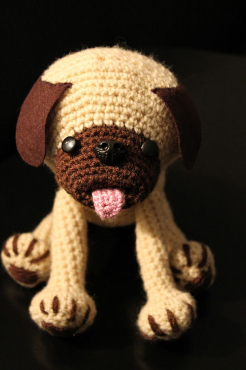 Free Crochet Pattern For Pug Dog : 50 Cutest FREE Amigurumi Patterns and Tutorials ? Page 8 ...