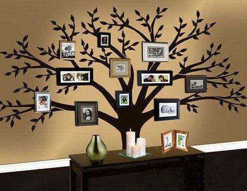 3 family vinyl wall decal - Family Tree Design Ideas