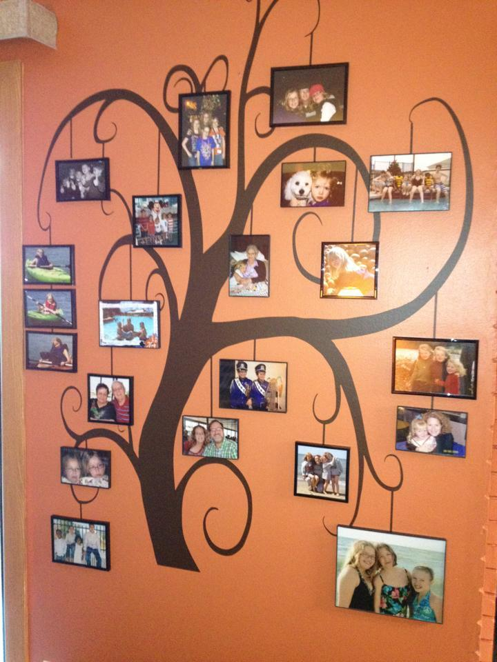 5 giant tree family photo tree - Family Tree Design Ideas