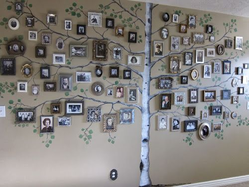 35 Family Tree Wall Art Ideas Page 3 List Inspired