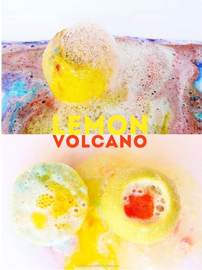 Как сделать вулкан из лимонной кислоты и соды