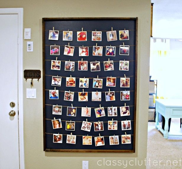28 photo wall display