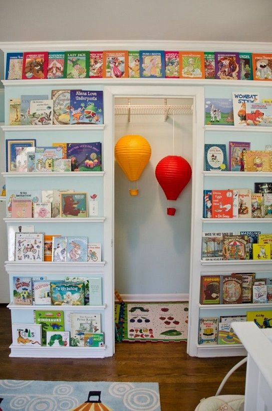 Build a Library Wall