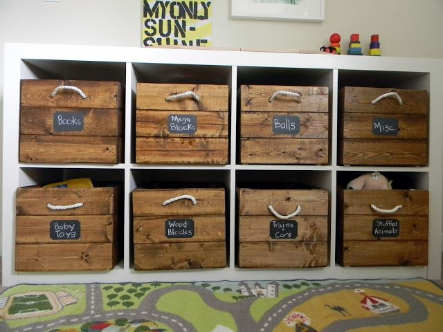 Toy Storage Crates