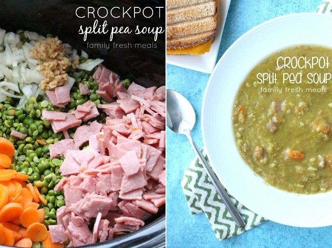 Split Pea Soup : This Crockpot Split Pea Soup is as easy, and as ...