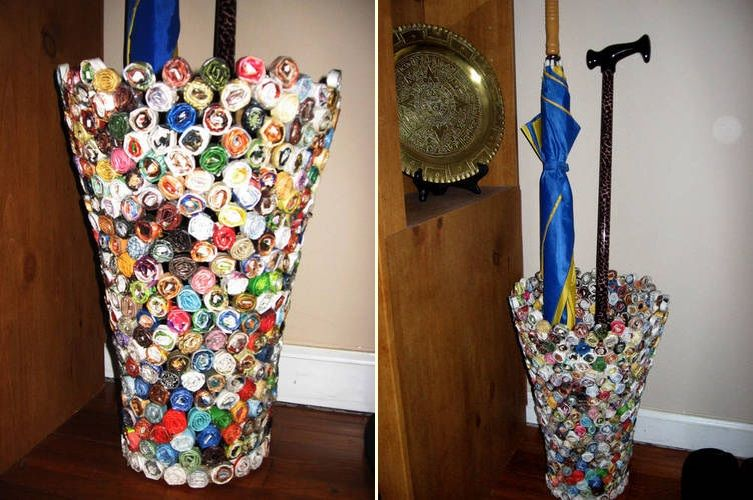 50 funky ways to reuse old magazines page 9 - How to reuse magazines seven inspired ideas ...