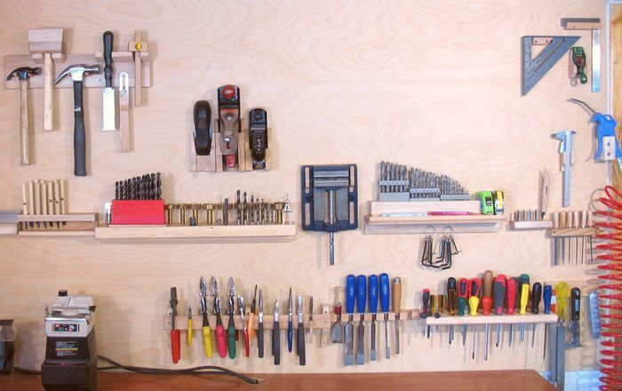 3 Wall Tool Holders. 50 Genius DIY Garage Storage and Organization Project Ideas