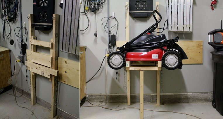 50 genius diy garage storage and organization project - Space saving ideas for garage ...