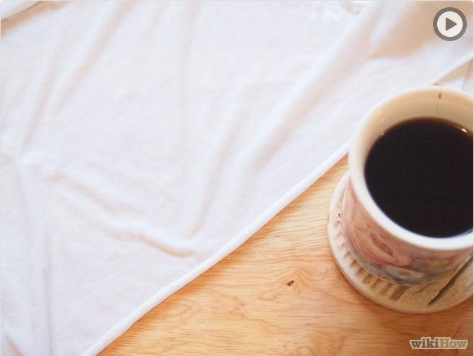 How to Remove a Coffee Stain from a Cotton Shirt