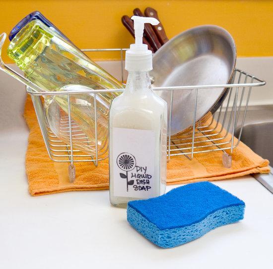 Моющее средство для детской посуды своими руками