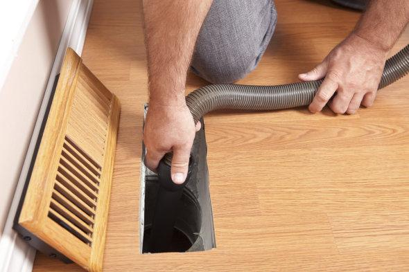 How to Clean a Home's Air Ducts