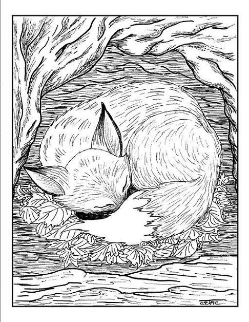 35 free calming thoughtful and relaxing adult coloring for Relaxing adult coloring pages