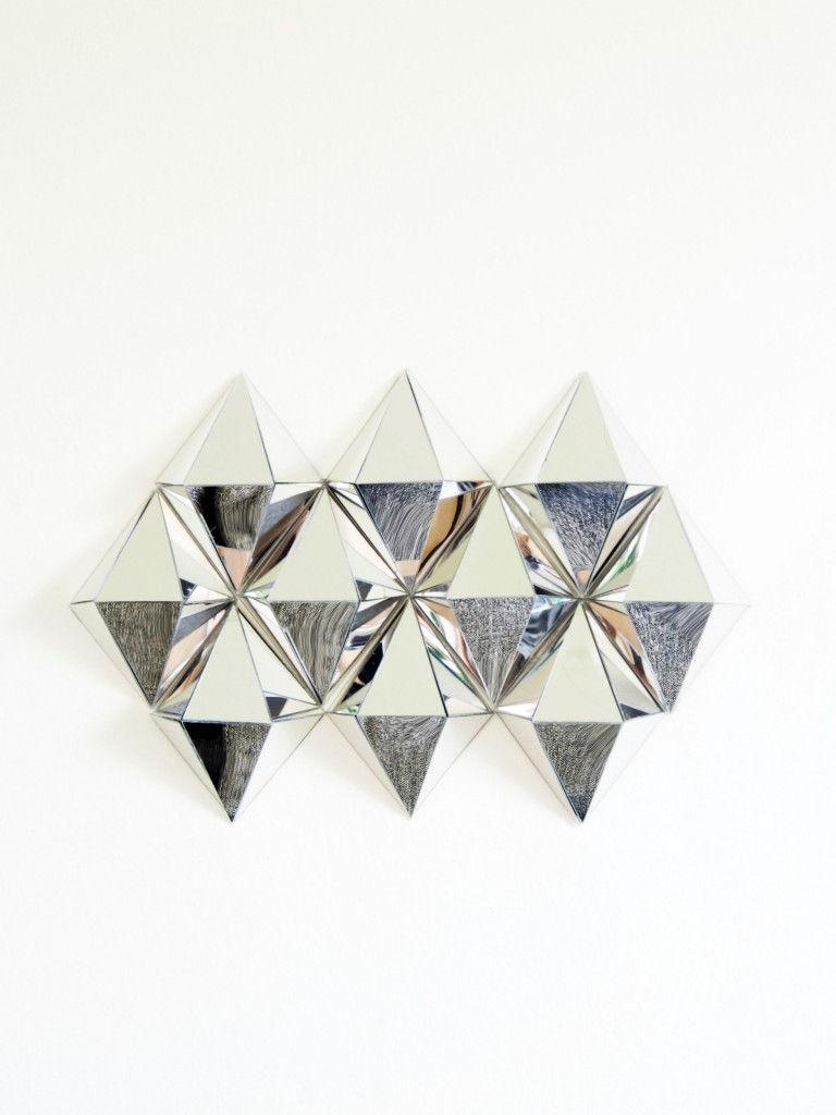 3D Mirror Wall Art