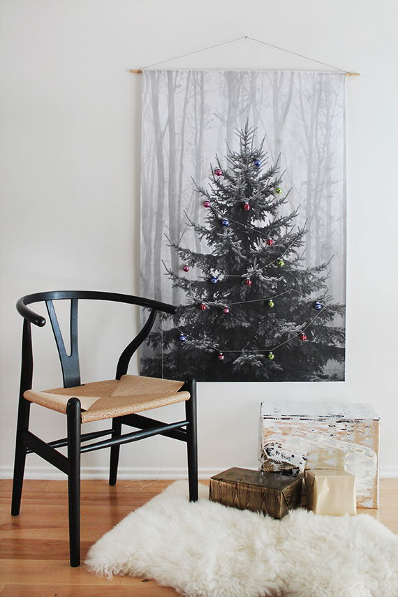 Makeshift Christmas Tree