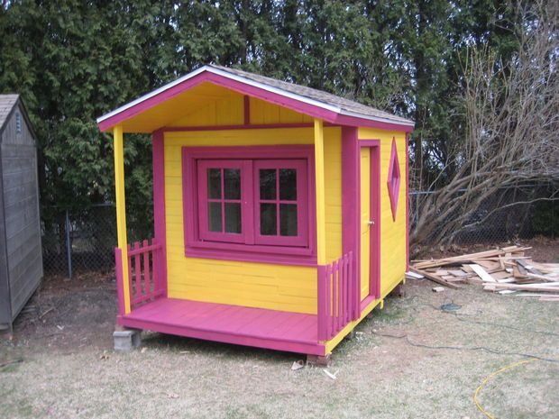 1 Pallet Playhouse