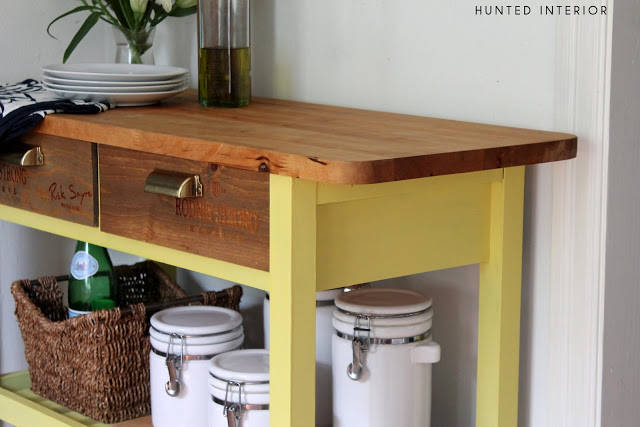 Wine Crate Drawer Fronts