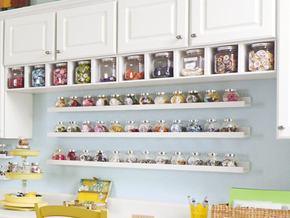 50 Clever Organization Hacks to Revamp Your Craft Room ...