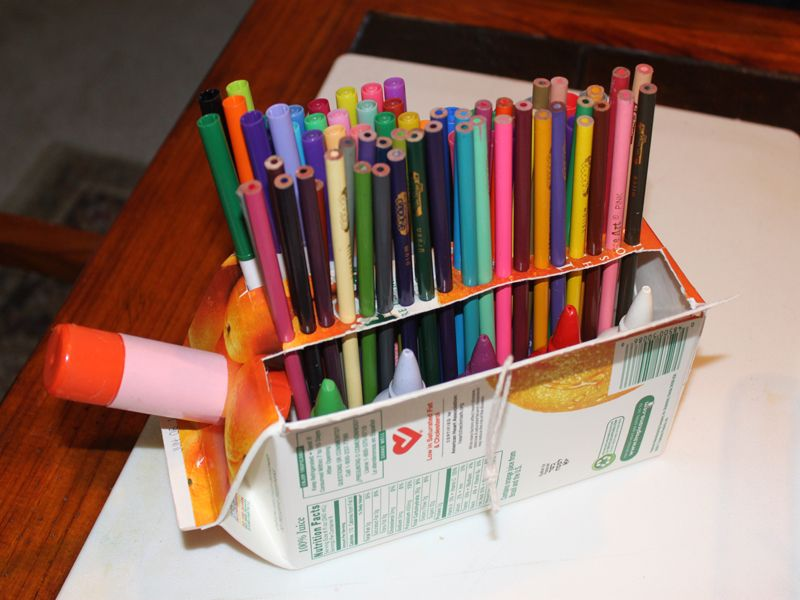 30 clever diy project ideas and tutorials to keep your - Diy desk organizer ideas ...