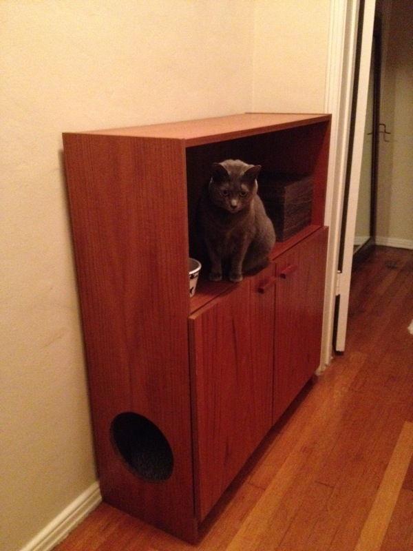 23 litter cabinet cat litter box furniture diy